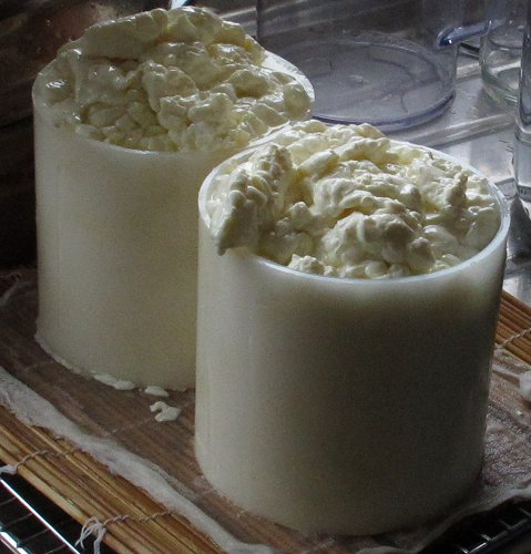 making soft cheese