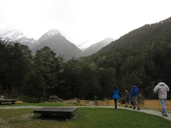 heading for the Routeburn Track
